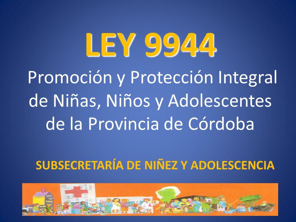 SUBSECRETARÍA DE NIÑEZ Y ADOLESCENCIA