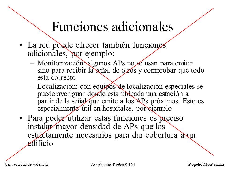 Funciones adicionales
