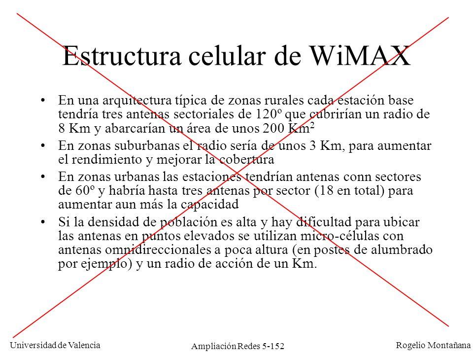 Estructura celular de WiMAX