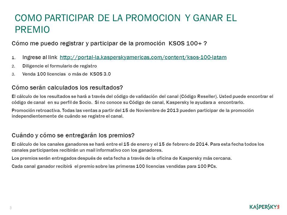 COMO participar DE LA promoCION Y GANAR EL PREMIO