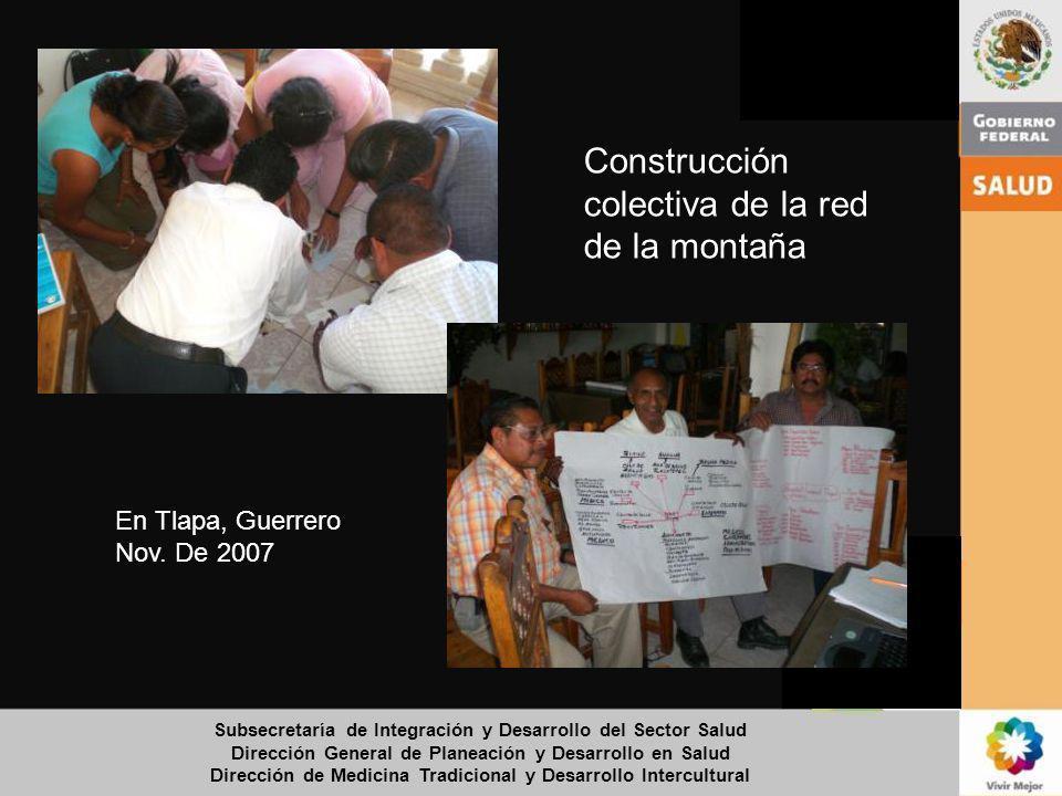 Construcción colectiva de la red de la montaña