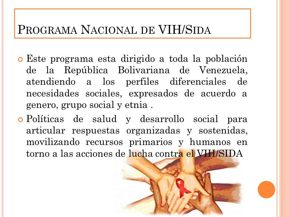 Programa Nacional de VIH/Sida