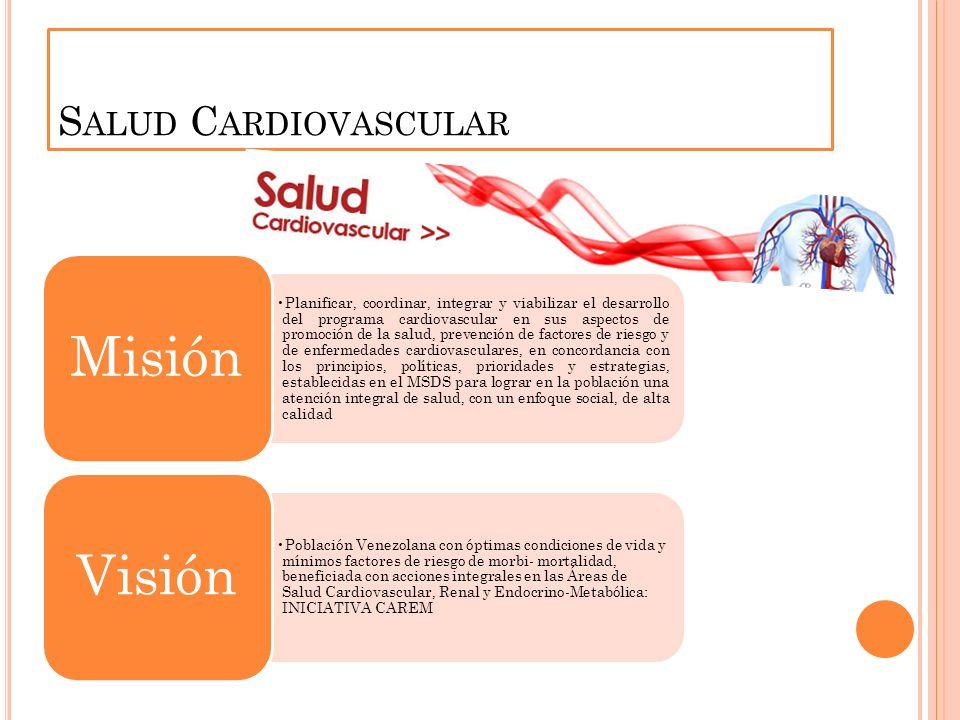 Salud Cardiovascular Misión