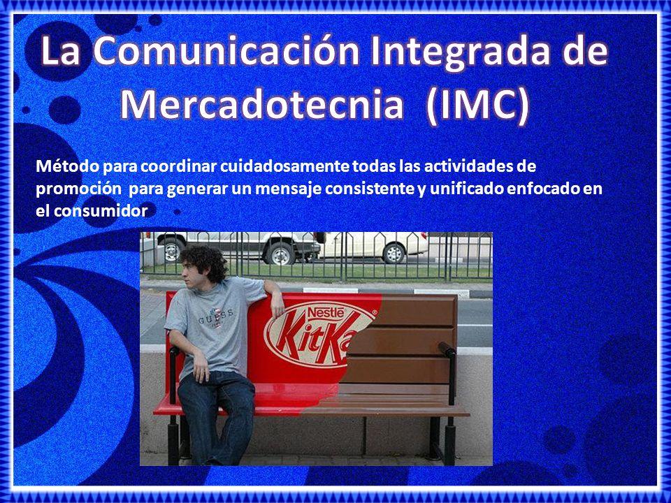 La Comunicación Integrada de Mercadotecnia (IMC)