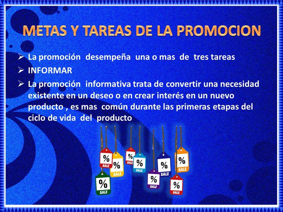 METAS Y TAREAS DE LA PROMOCION