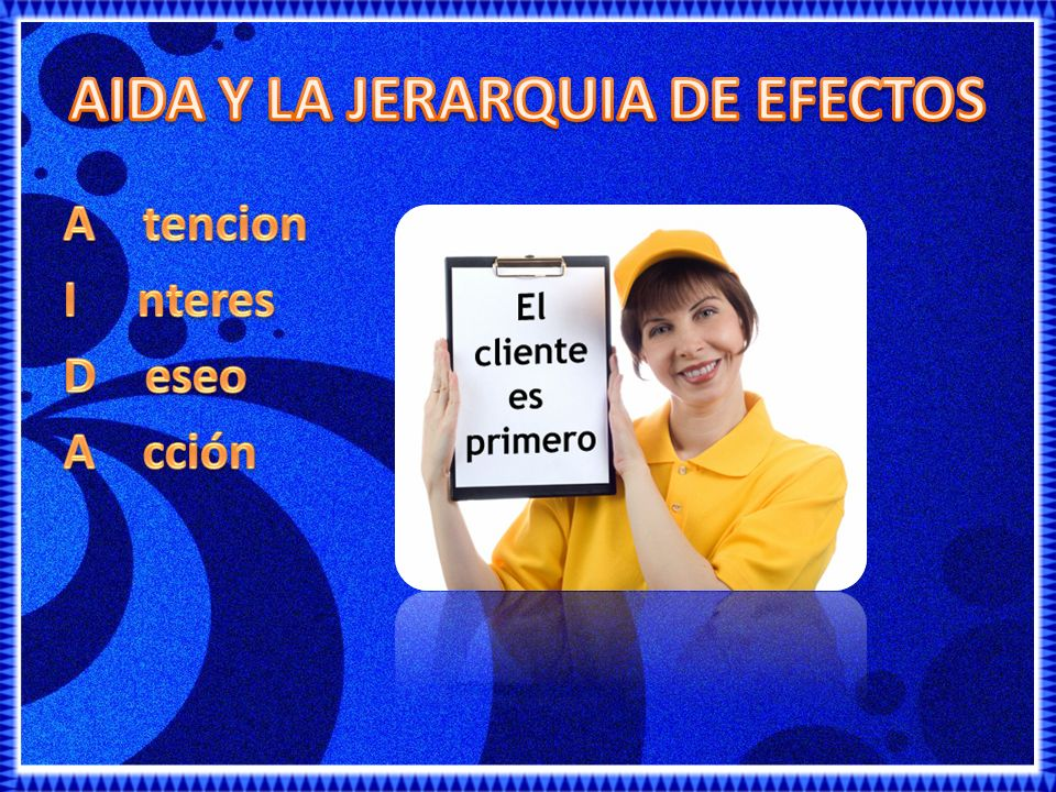 AIDA Y LA JERARQUIA DE EFECTOS