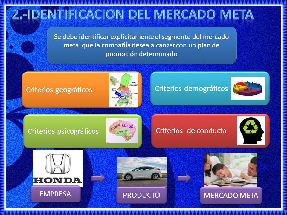 2.-IDENTIFICACION DEL MERCADO META
