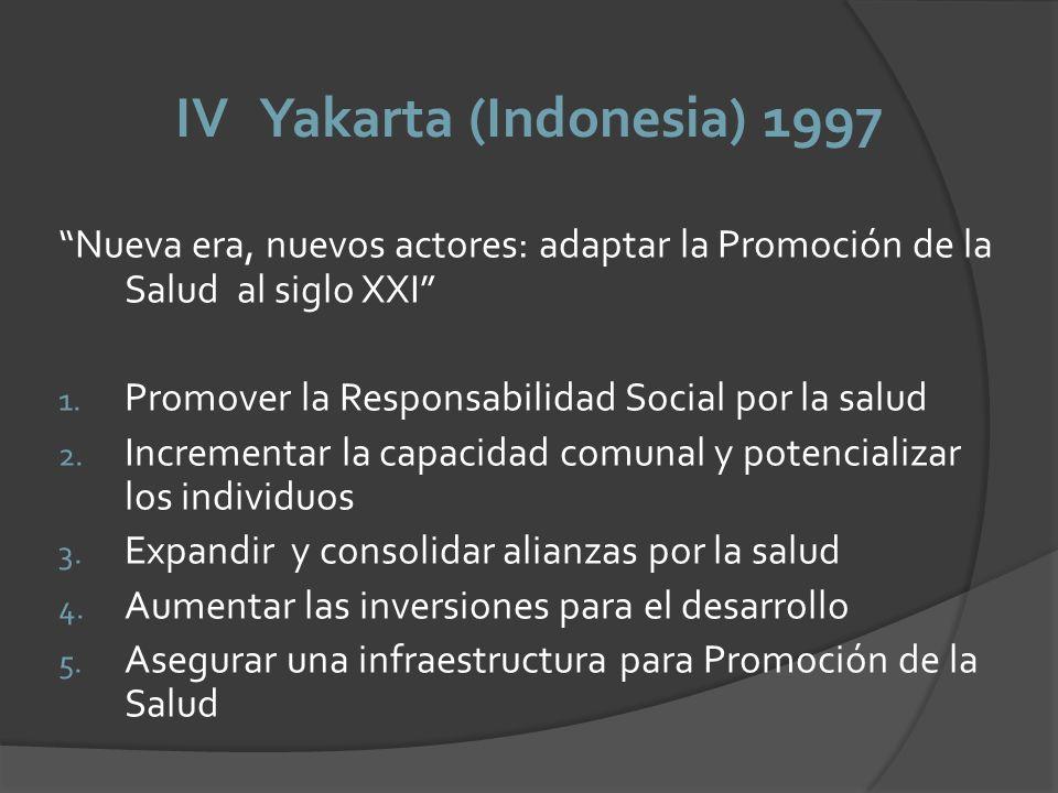 IV Yakarta (Indonesia) 1997