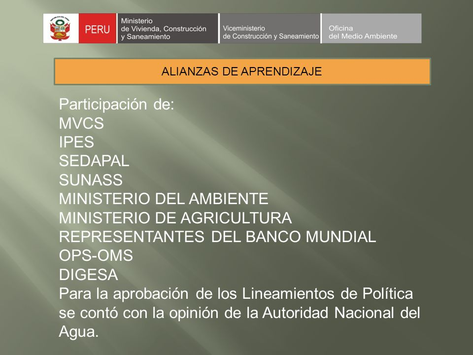 ALIANZAS DE APRENDIZAJE