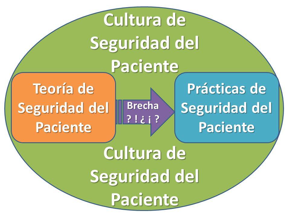 Cultura de Seguridad del Paciente Cultura de Seguridad del Paciente