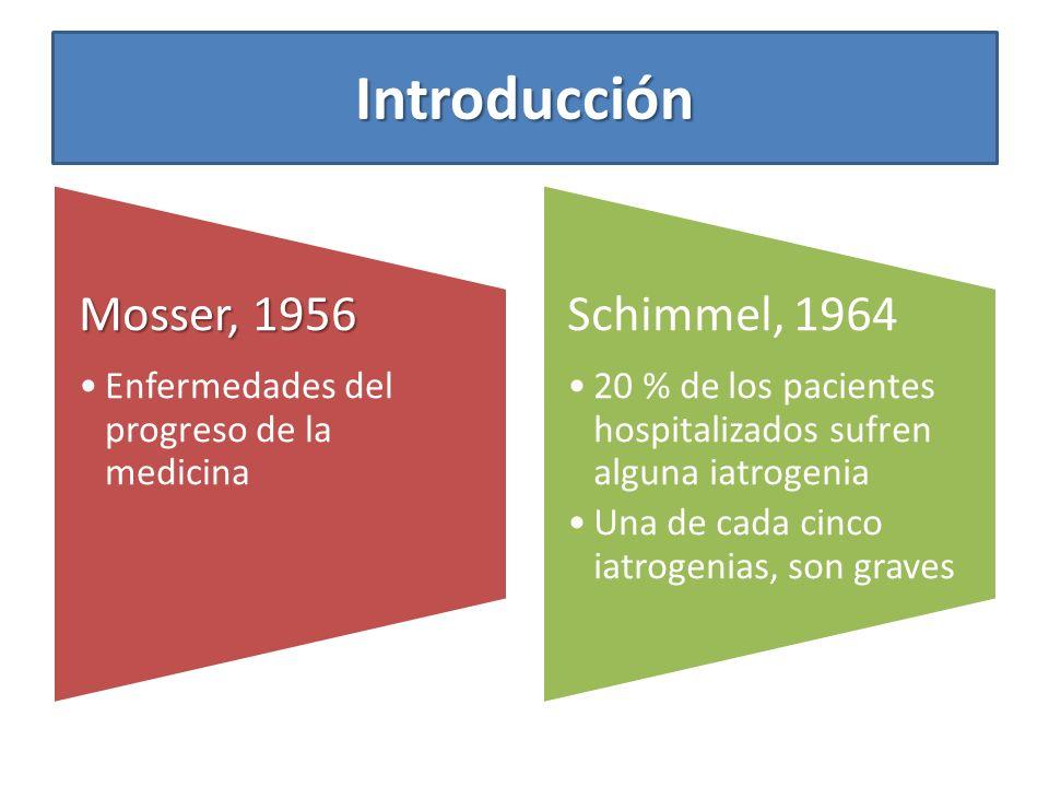 Introducción Mosser, 1956 Enfermedades del progreso de la medicina