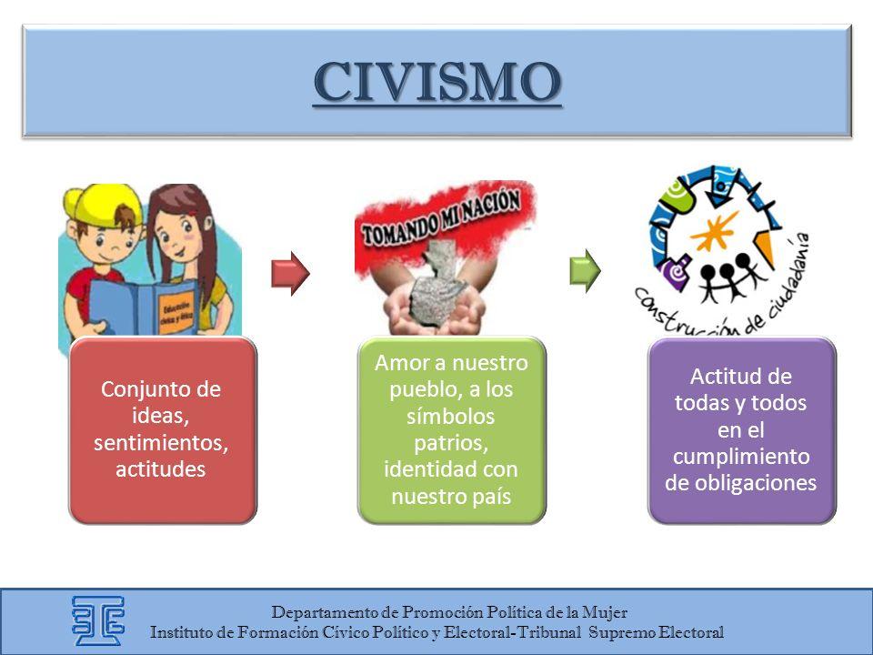 CIVISMO Departamento de Promoción Política de la Mujer