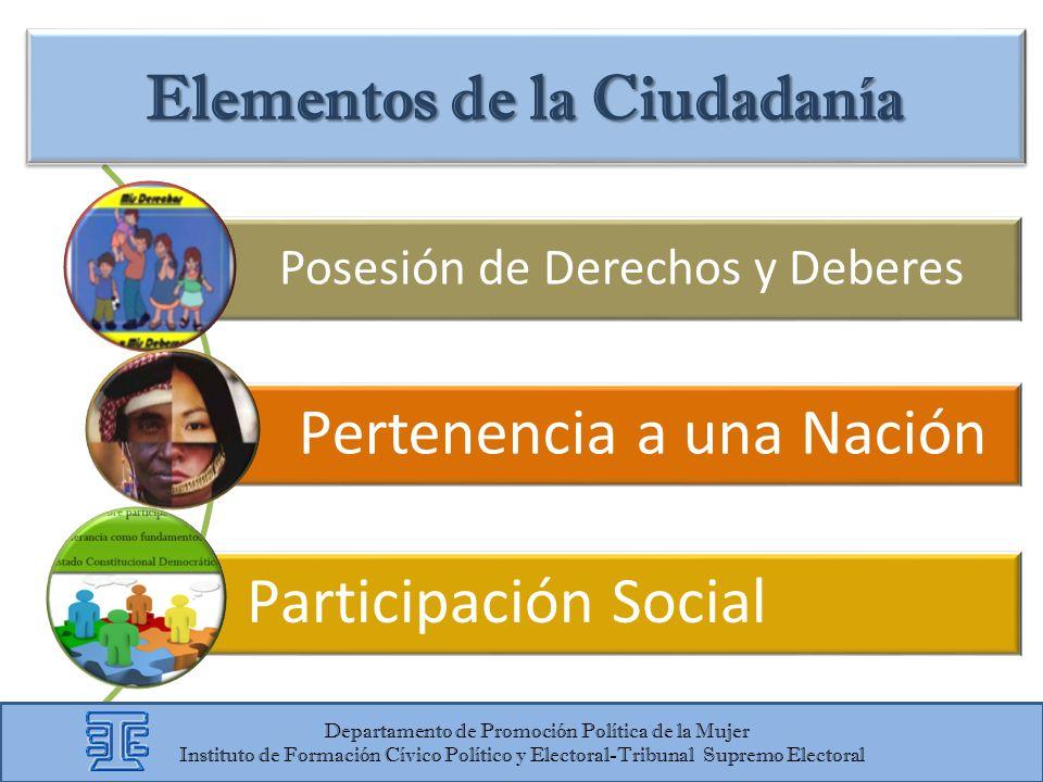 Elementos de la Ciudadanía