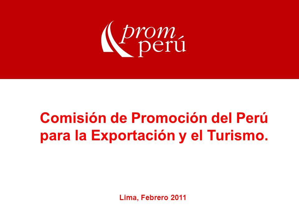 Comisión de Promoción del Perú para la Exportación y el Turismo.