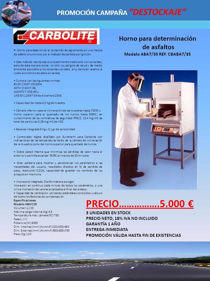 PRECIO…………….5.000 € PROMOCIÓN CAMPAÑA DESTOCKAJE