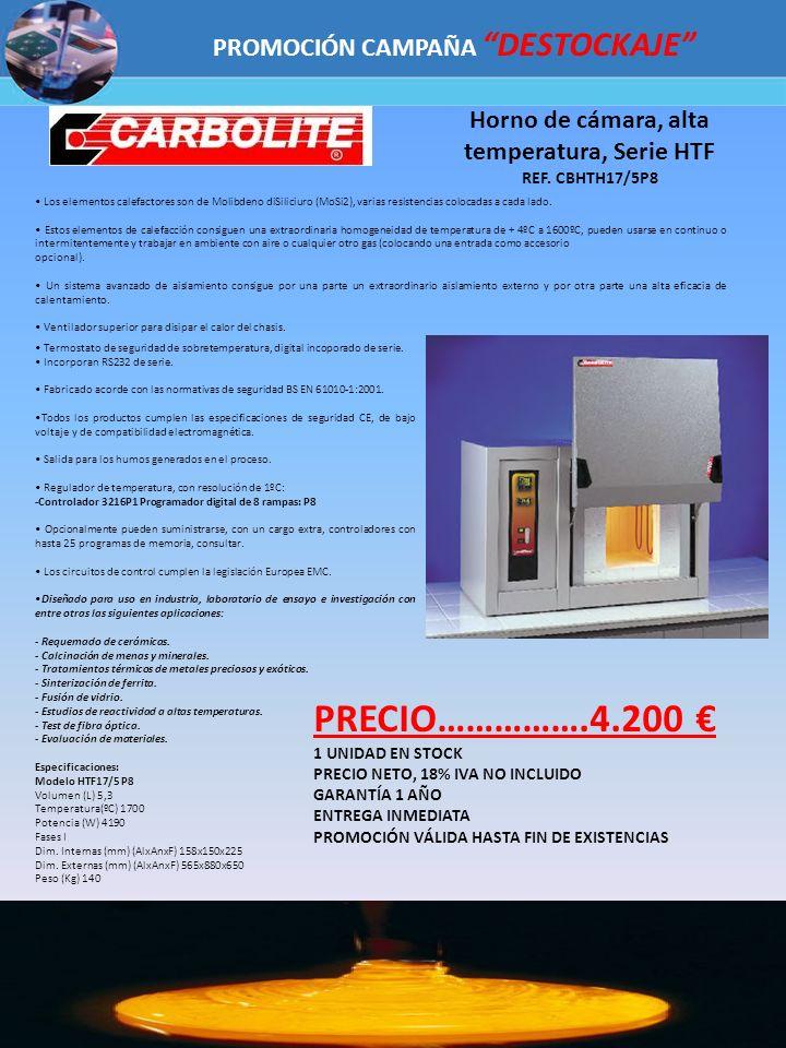 PRECIO…………….4.200 € PROMOCIÓN CAMPAÑA DESTOCKAJE