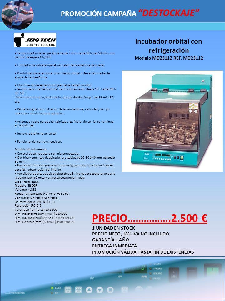 PRECIO…………….2.500 € PROMOCIÓN CAMPAÑA DESTOCKAJE