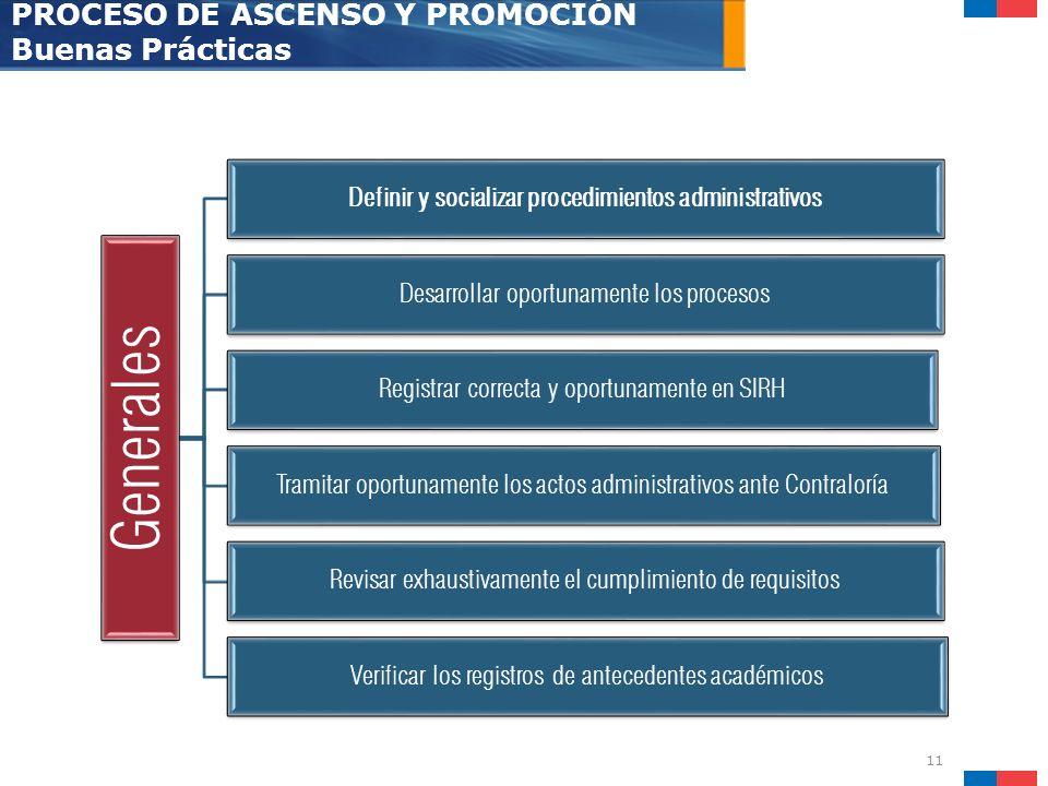 Definir y socializar procedimientos administrativos