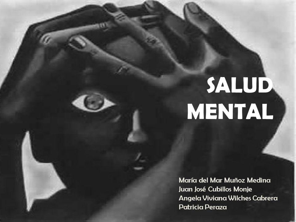 SALUD MENTAL María del Mar Muñoz Medina Juan José Cubillos Monje