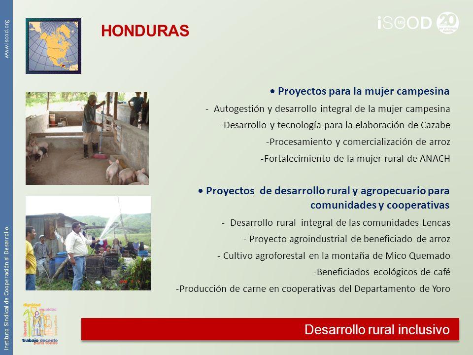 HONDURAS Desarrollo rural inclusivo