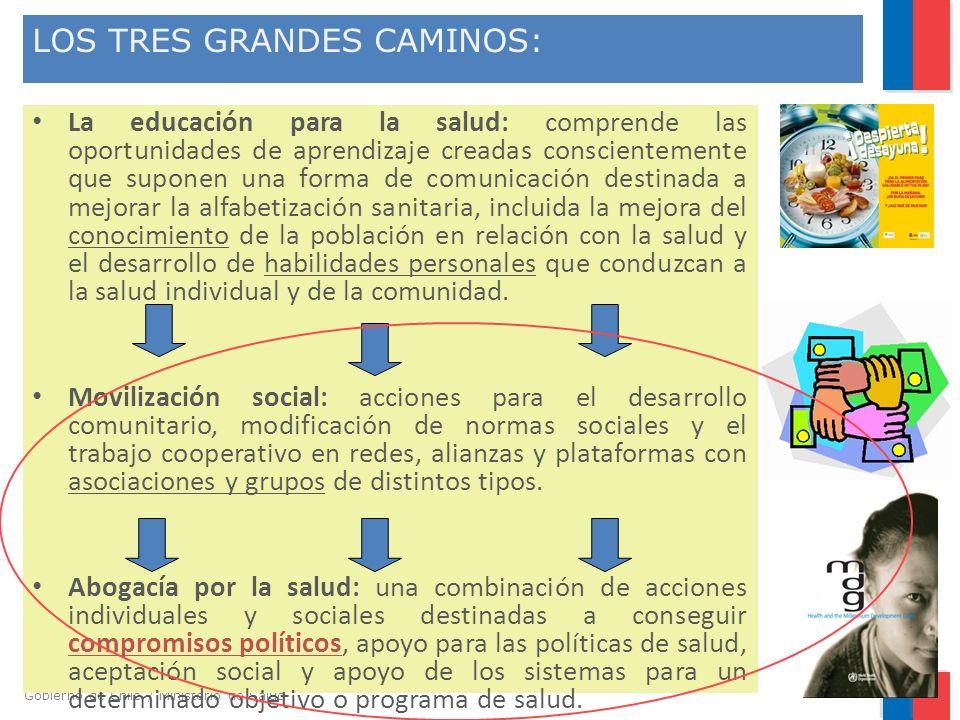 LOS TRES GRANDES CAMINOS: