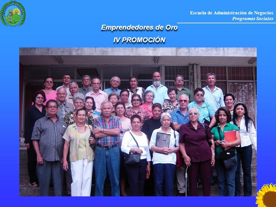 Emprendedores de Oro IV PROMOCIÓN