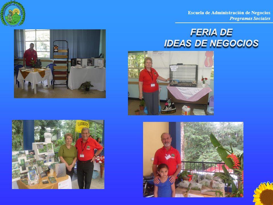 FERIA DE IDEAS DE NEGOCIOS