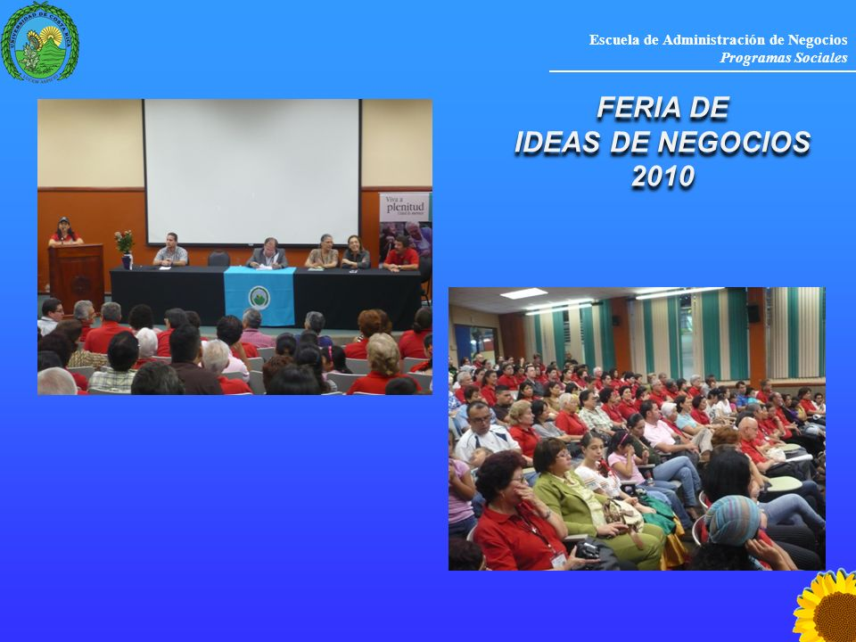 FERIA DE IDEAS DE NEGOCIOS 2010