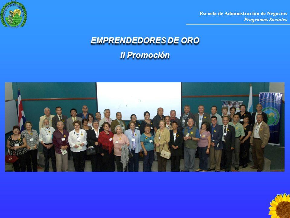 EMPRENDEDORES DE ORO II Promoción