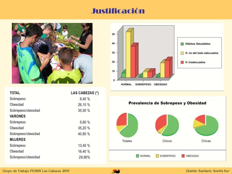 Justificación Grupo de Trabajo PIOBIN Las Cabezas 2010
