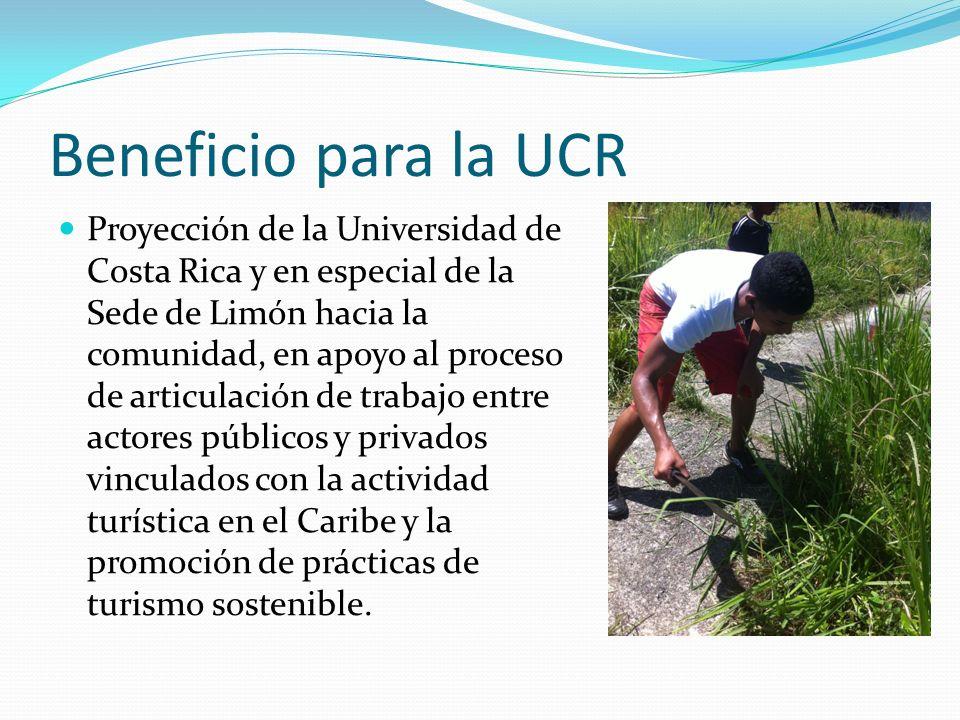 Beneficio para la UCR