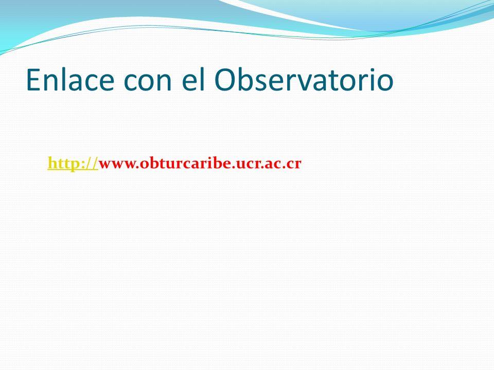 Enlace con el Observatorio