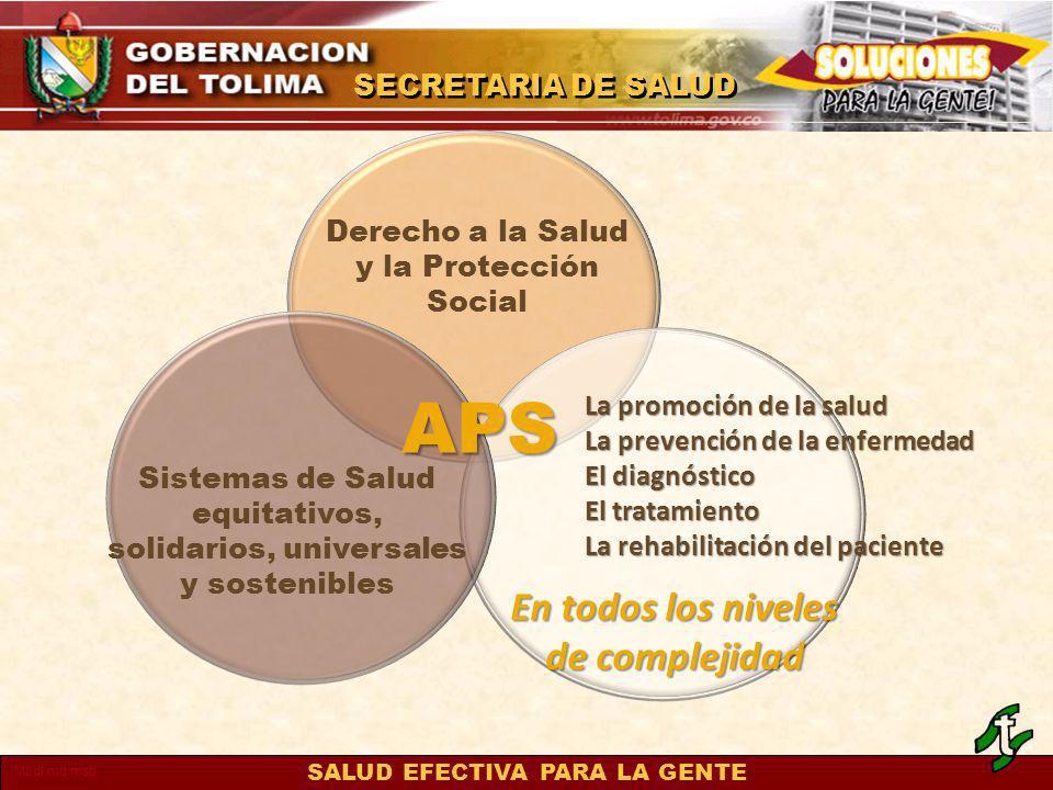 APS En todos los niveles de complejidad