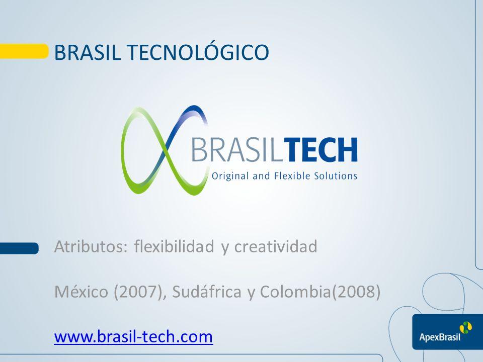 BRASIL TECNOLÓGICO Atributos: flexibilidad y creatividad