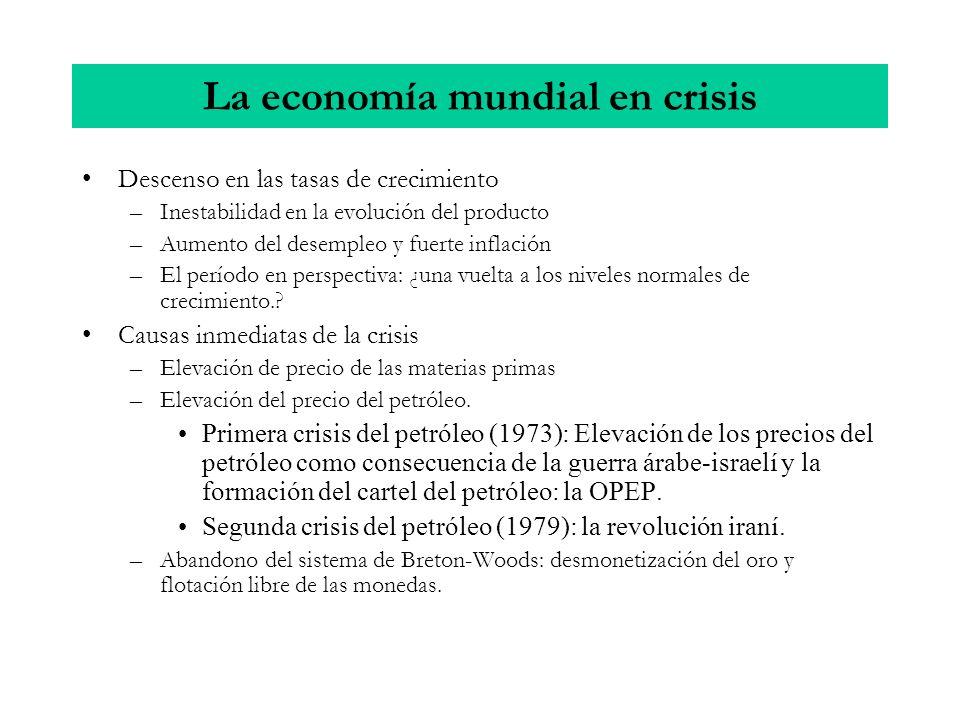 La economía mundial en crisis