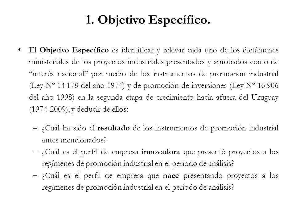 1. Objetivo Específico.