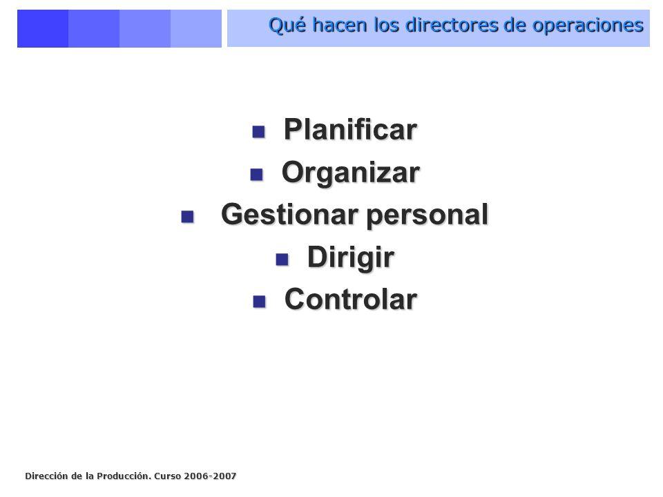 Qué hacen los directores de operaciones