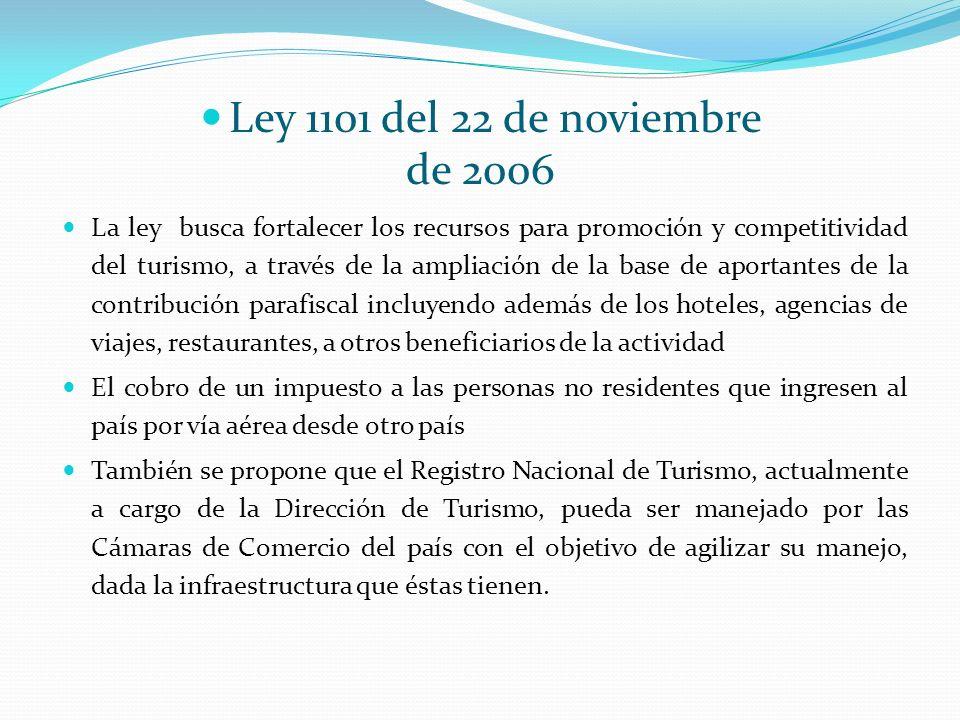 Ley 1101 del 22 de noviembre de 2006.