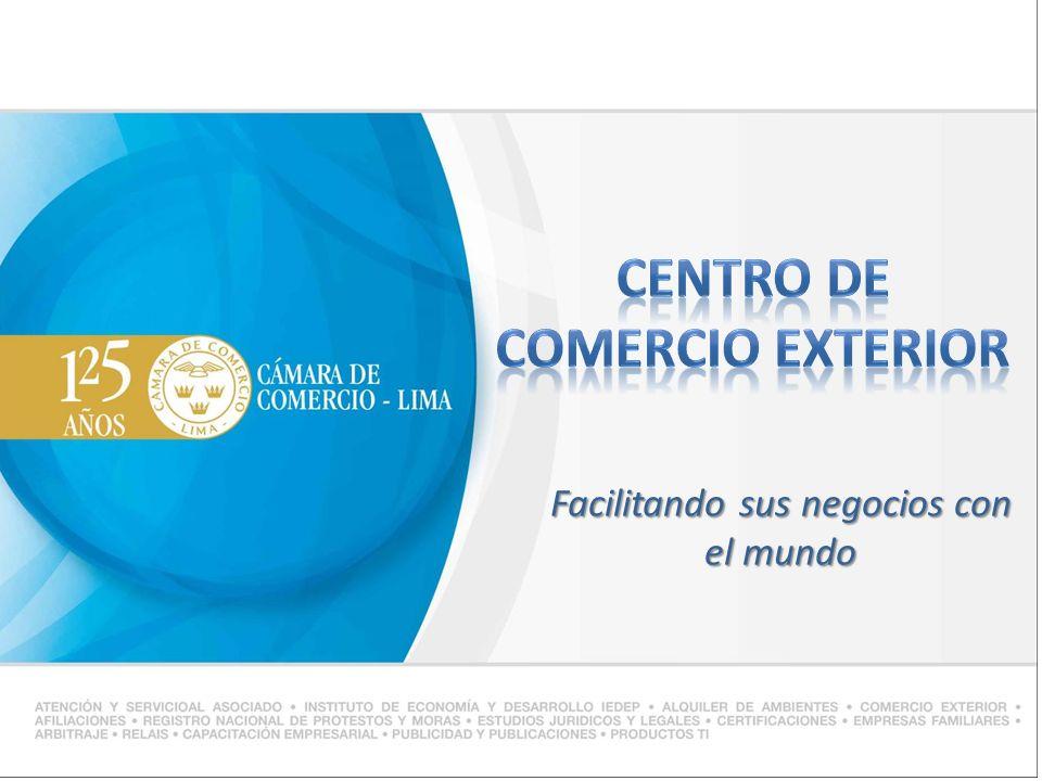 CENTRO DE COMERCIO EXTERIOR