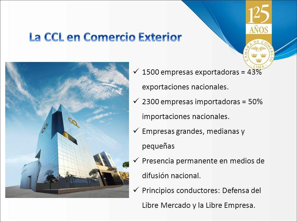 La CCL en Comercio Exterior