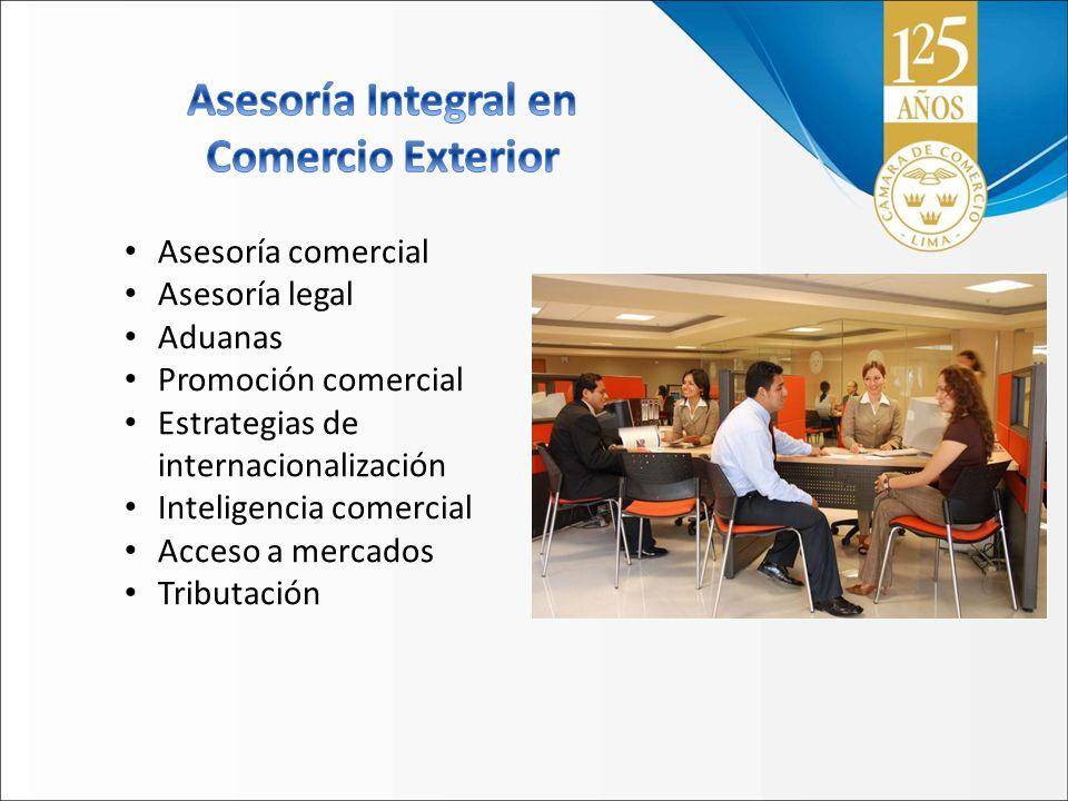 Asesoría Integral en Comercio Exterior