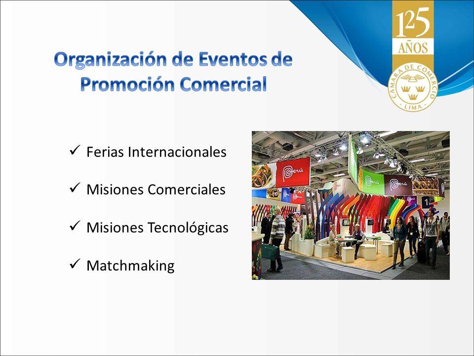 Organización de Eventos de Promoción Comercial