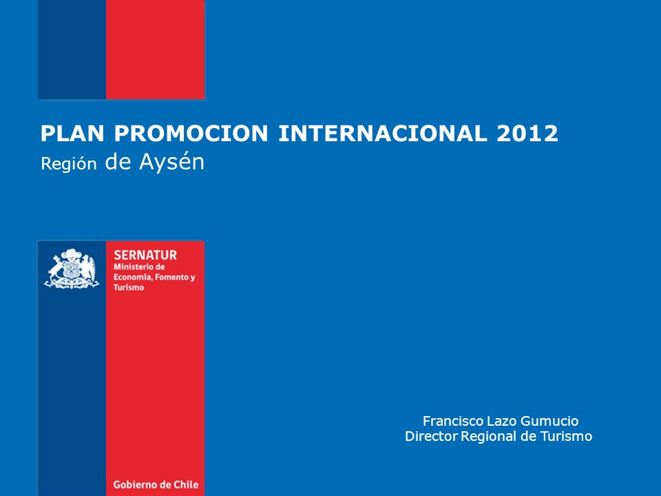 PLAN PROMOCION INTERNACIONAL 2012