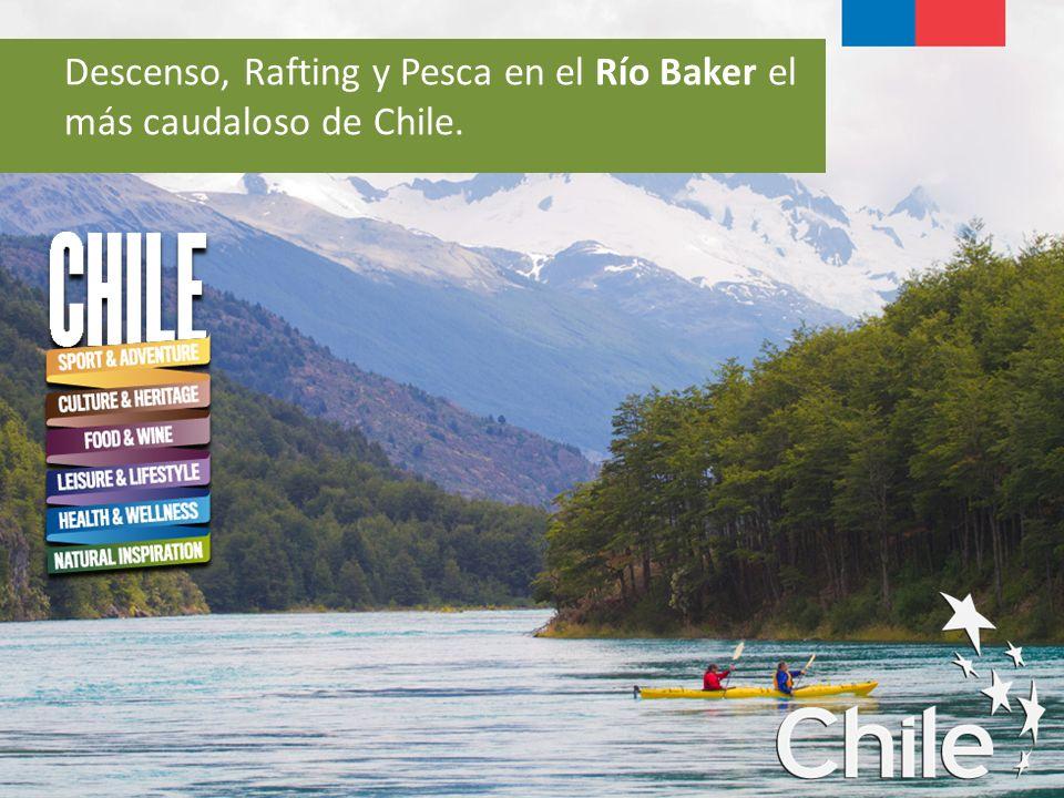 Descenso, Rafting y Pesca en el Río Baker el más caudaloso de Chile.