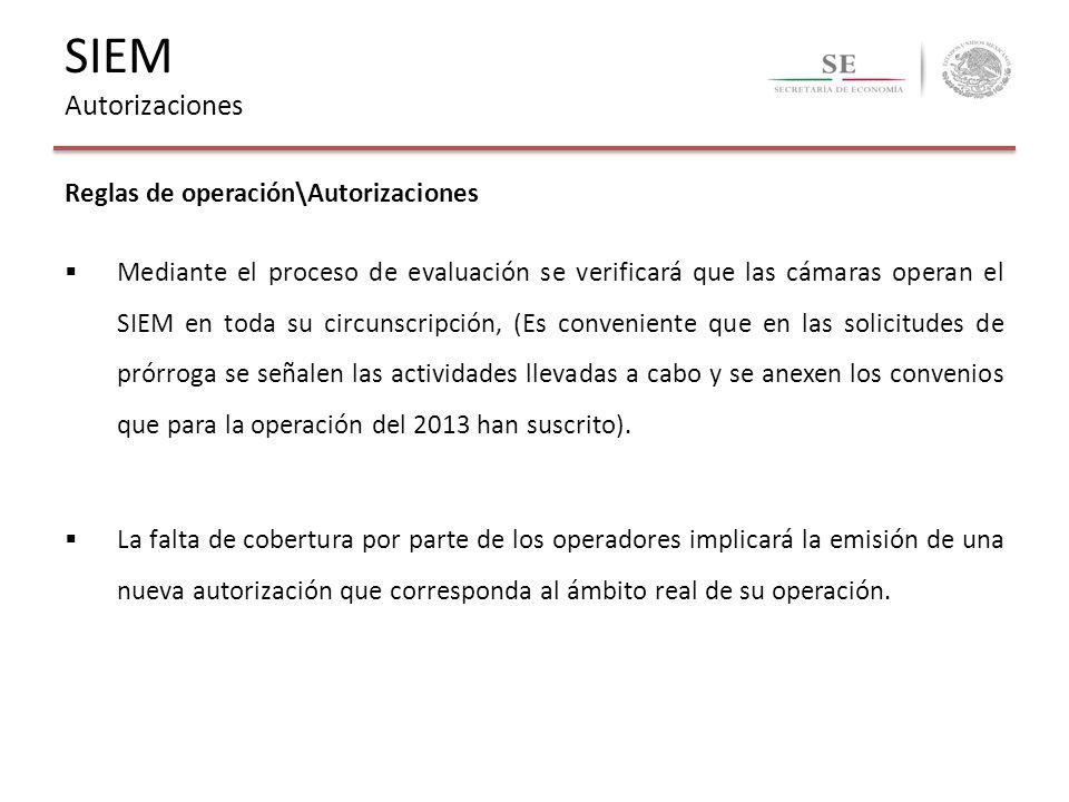 SIEM Autorizaciones Reglas de operación\Autorizaciones