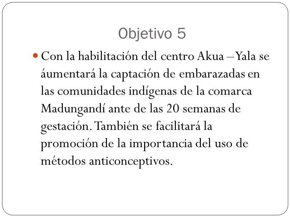 Objetivo 5
