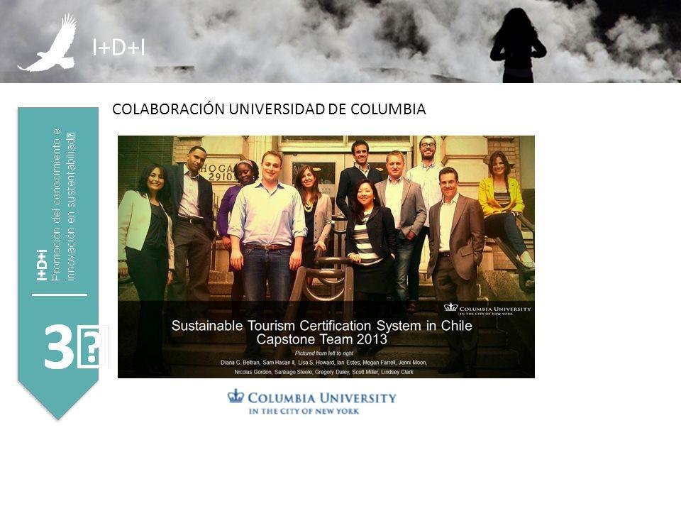 I+D+I COLABORACIÓN UNIVERSIDAD DE COLUMBIA