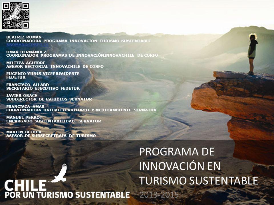 Programa de Innovación en Turismo Sustentable