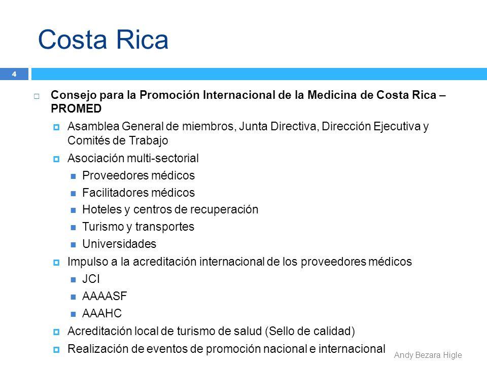 Costa Rica Consejo para la Promoción Internacional de la Medicina de Costa Rica – PROMED.