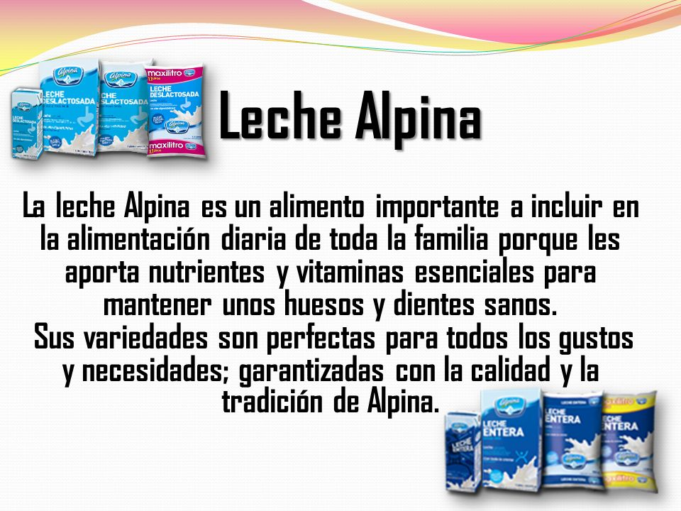Leche Alpina